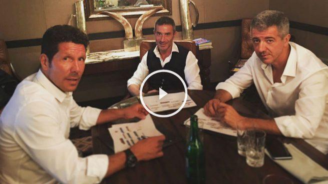 Simeone confirma la noticia de Eduardo Inda: se queda en el Atlético