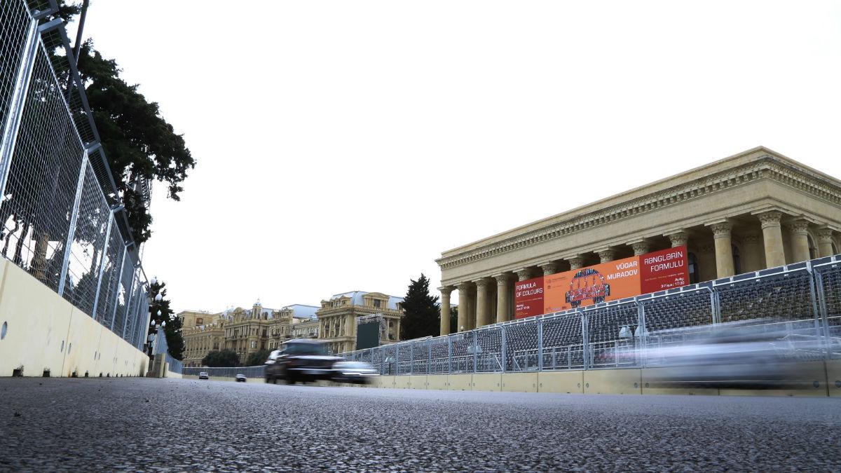 Las calles de Baku serán el escenario del Gran Premio de Europa de Fórmula 1 durante este fin de semana. (Getty)