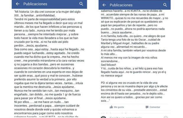 La carta que dejó el policía suicida de Alcobendas:
