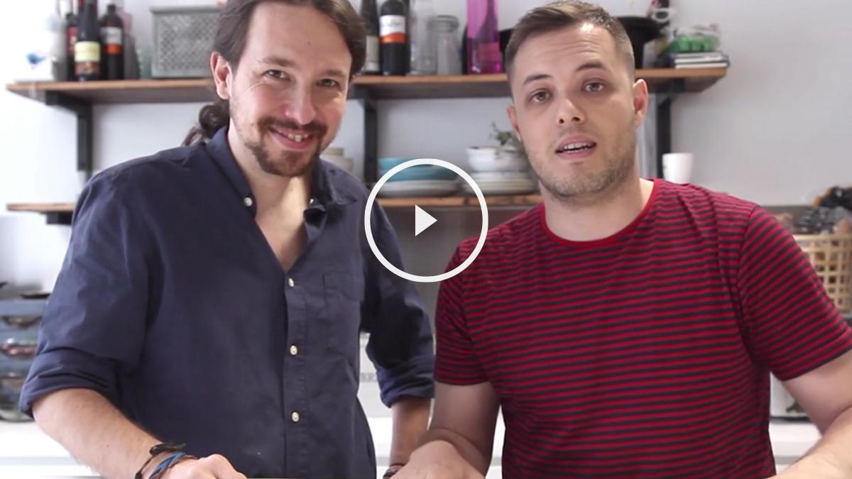El 'youtuber' Rush Smith entrevista a Pablo Iglesias.