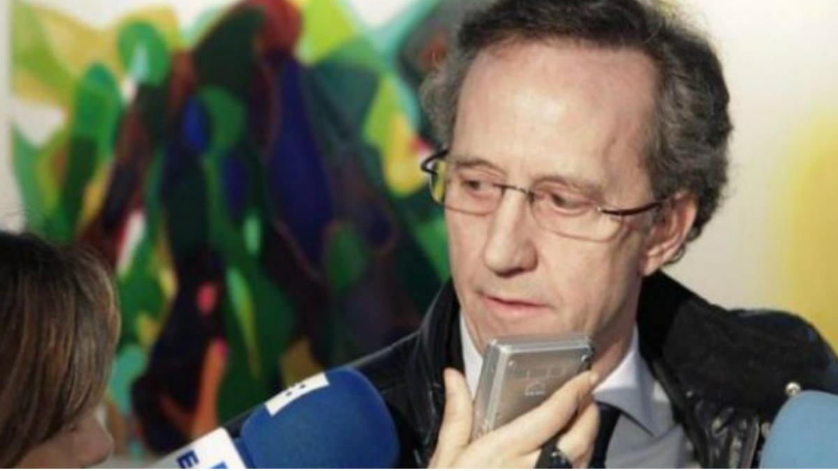 Jaime Alonso García, uno de los hermanos que han avalado la fianza de Mario Conde, es el vicepresidente de la Fundación Francisco Franco. (Foto: Agencias)