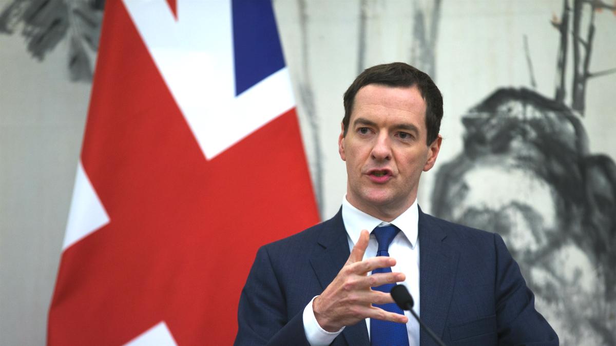El ex ministro de Finanzas británico, George Osborne (Foto: GETTY).
