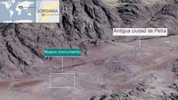 Lugar donde se encuentra el descubrimiento. (Foto: BBC)