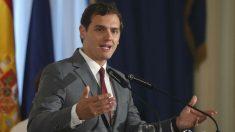 El candidato de C's a la Moncloa, Albert Rivera. (Foto: EFE)