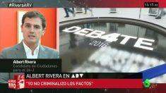 Albert Rivera en 'Al rojo vivo'. (Foto: laSexta)