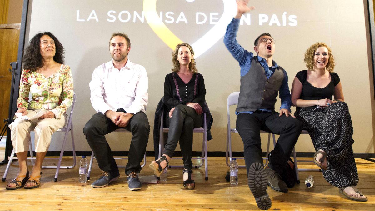 Juan Carlos Monedero, durante un acto de campaña de Unidos Podemos (Foto: EFE)
