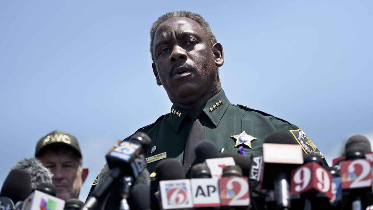 El sheriff Jerry Demings. (Foto: AFP)