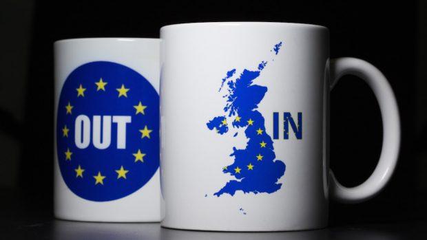 El Brexit en dos tazas (Foto: GETTY).