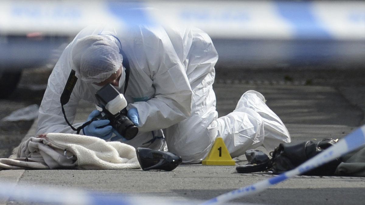 Lugar donde fue asesinada Jo Cox. (Foto: AFP)