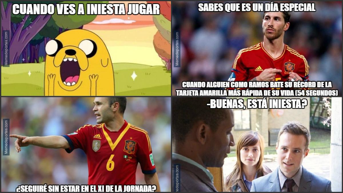 Los mejores memes de la victoria de España contra Turquía.