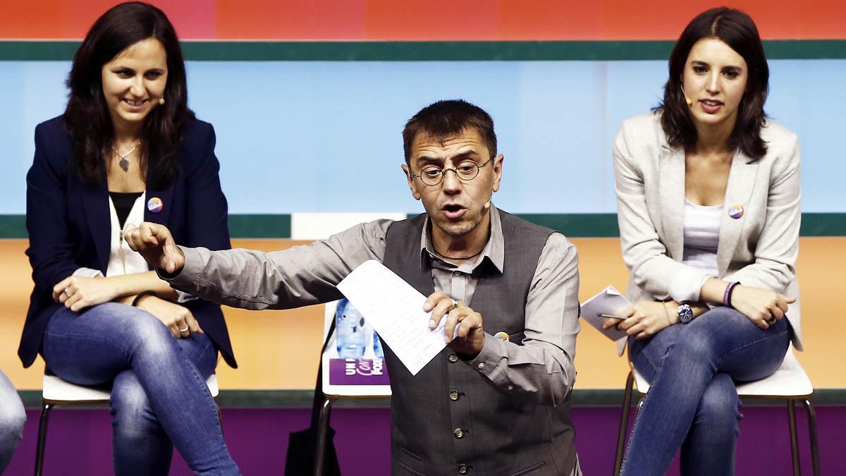Monedero durante un acto celebrado en Pamplona. (Foto: EFE)