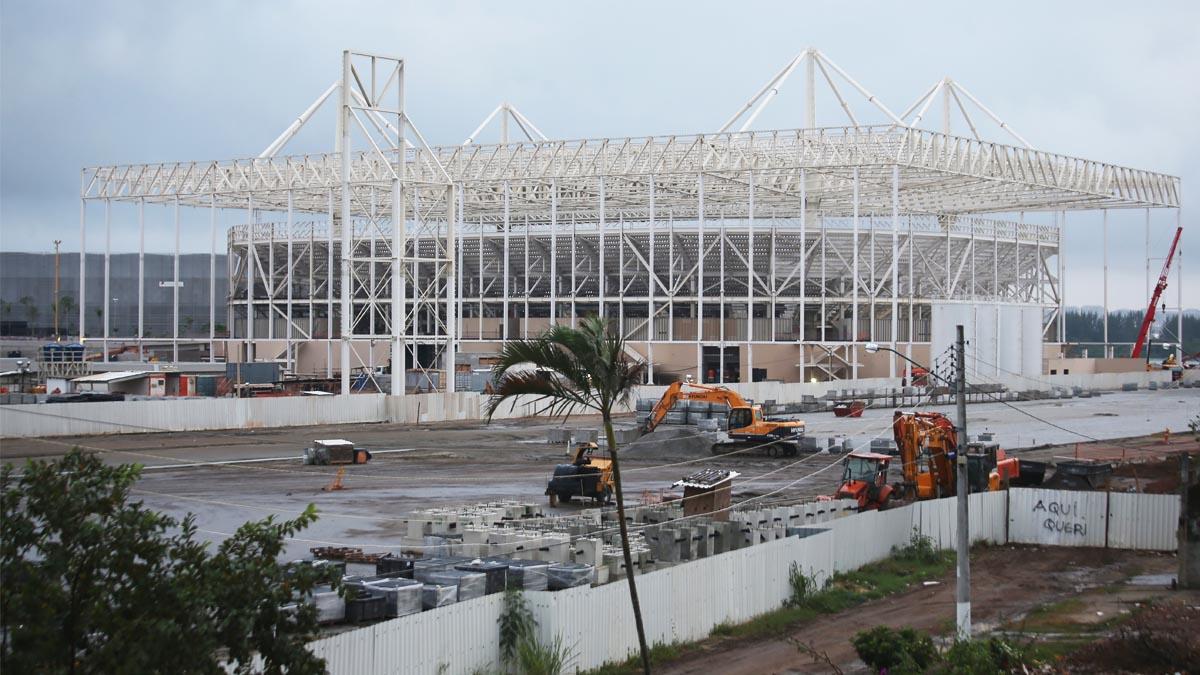 Obras en las instalaciones olímpicas (Foto: Getty)