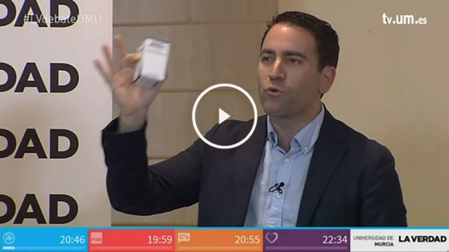 Teodoro García da una lección sobre la Sanidad pública en la Región de Murcia