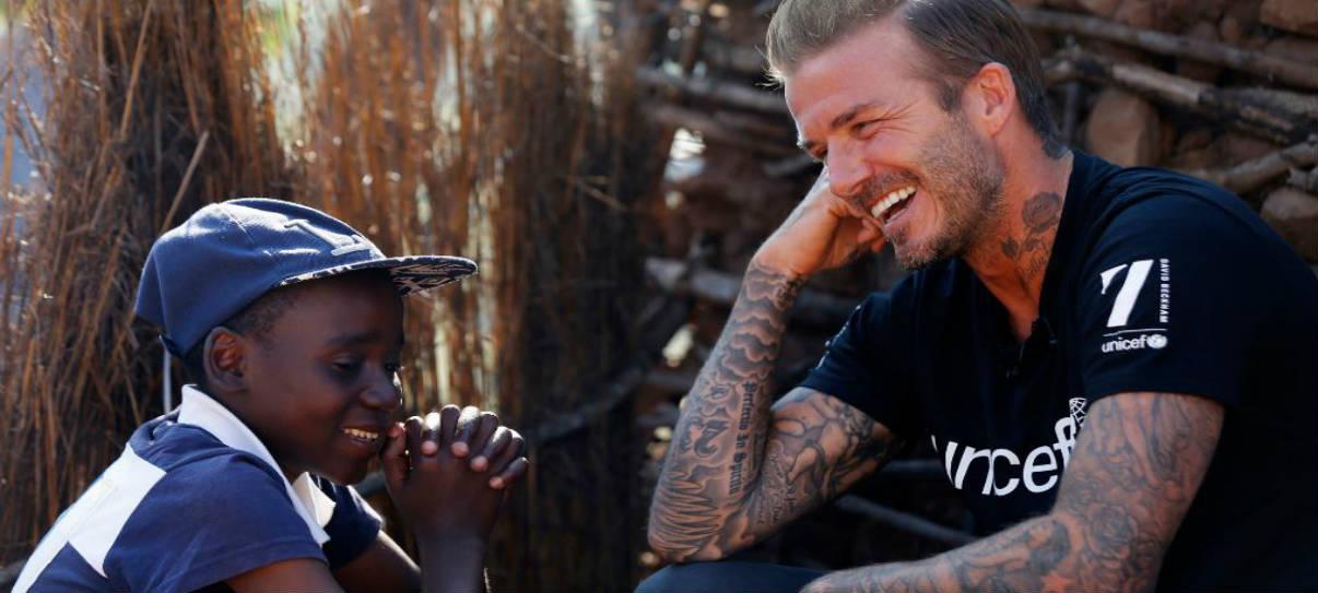 David Beckham Embajador de Unicef (mfr.co.uk)