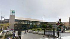 Fachada del Hospital Provincial de Castellón.