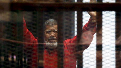 El depuesto presidente egipcio Mursi (Foto: Reuters)
