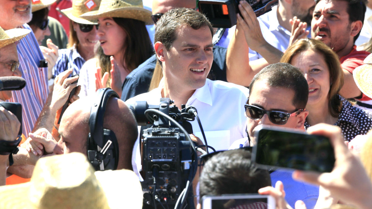 Albert Rivera, candidato de Ciudadanos (FOTO:EFE)