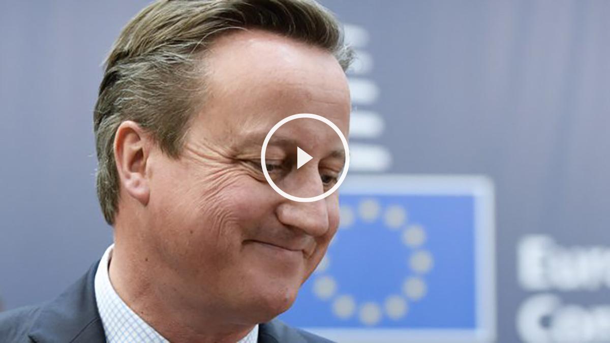 David Cameron, primer ministro británico. (Foto: AFP)