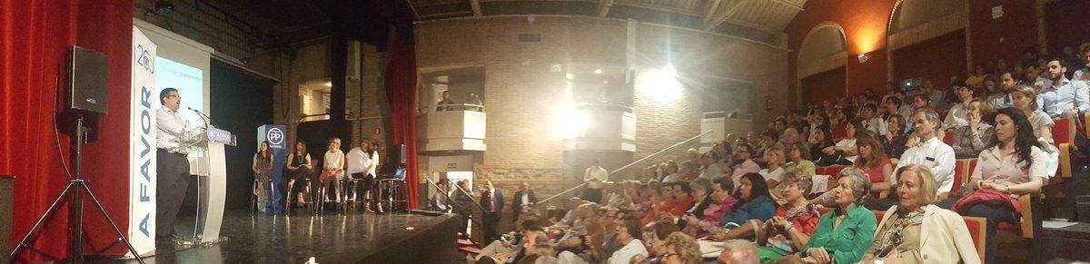 Imagen del auditorio de 'La Casa de Vacas'. (Foto: PP)