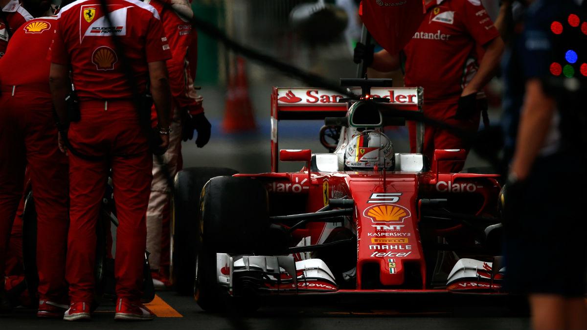 Sergio Marchionne se muestra decepcionado con el rendimiento de Ferrari en el mundial de 2016. (Getty)
