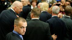 Corey Lewandowski, ex jefe de campaña de Donald Trump, en un mitin en Albuquerque, Nuevo México. (Reuters)
