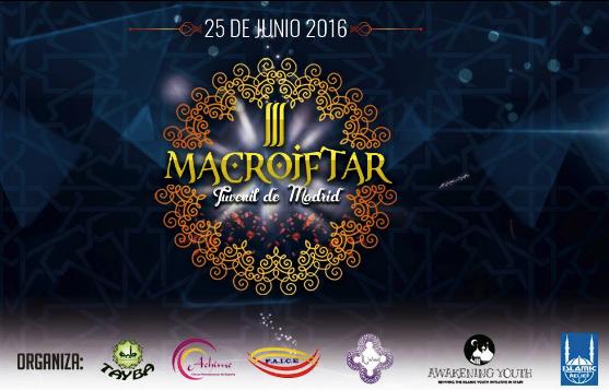 Cartel del Macroiftar 2016.