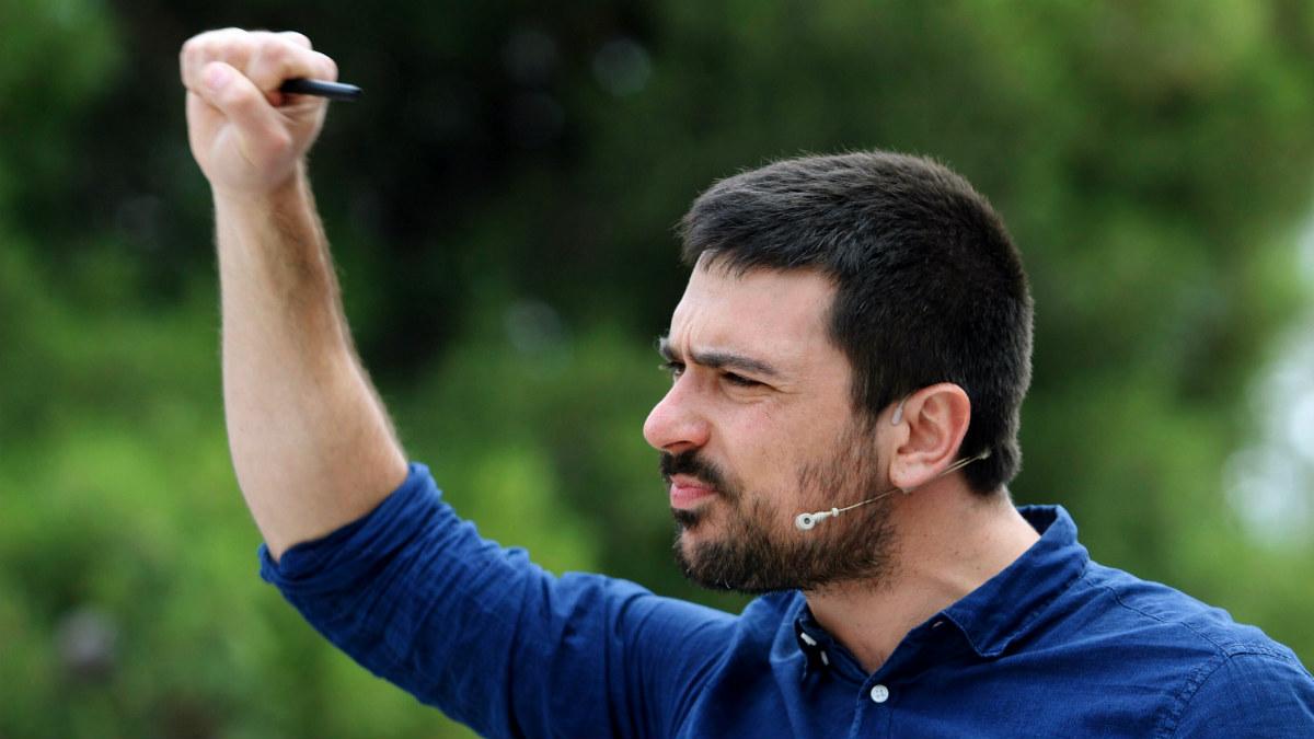 Ramón Espinar. (Foto: EFE)
