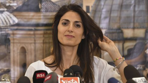 Virginia Raggi. (Foto: AFP)