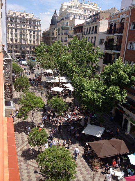 La calle Montera. (Foto: TW)