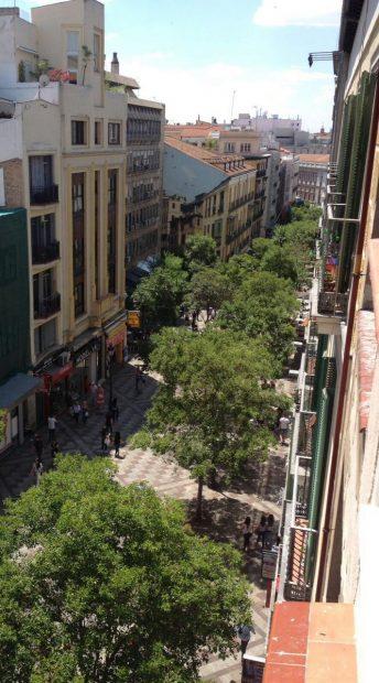 La calle une la Puerta del Sol con la Gran Vía. (Foto: TW)