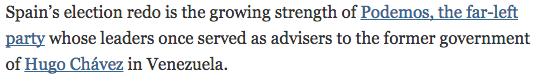 Fragmento del artículo de el NYT