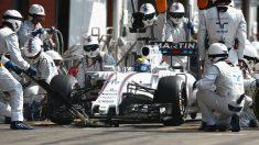 Uno de los 'pit stop' de Felipe Massa en Baku se ha convertido en el más rápido de la historia de la Fórmula 1. (Getty)