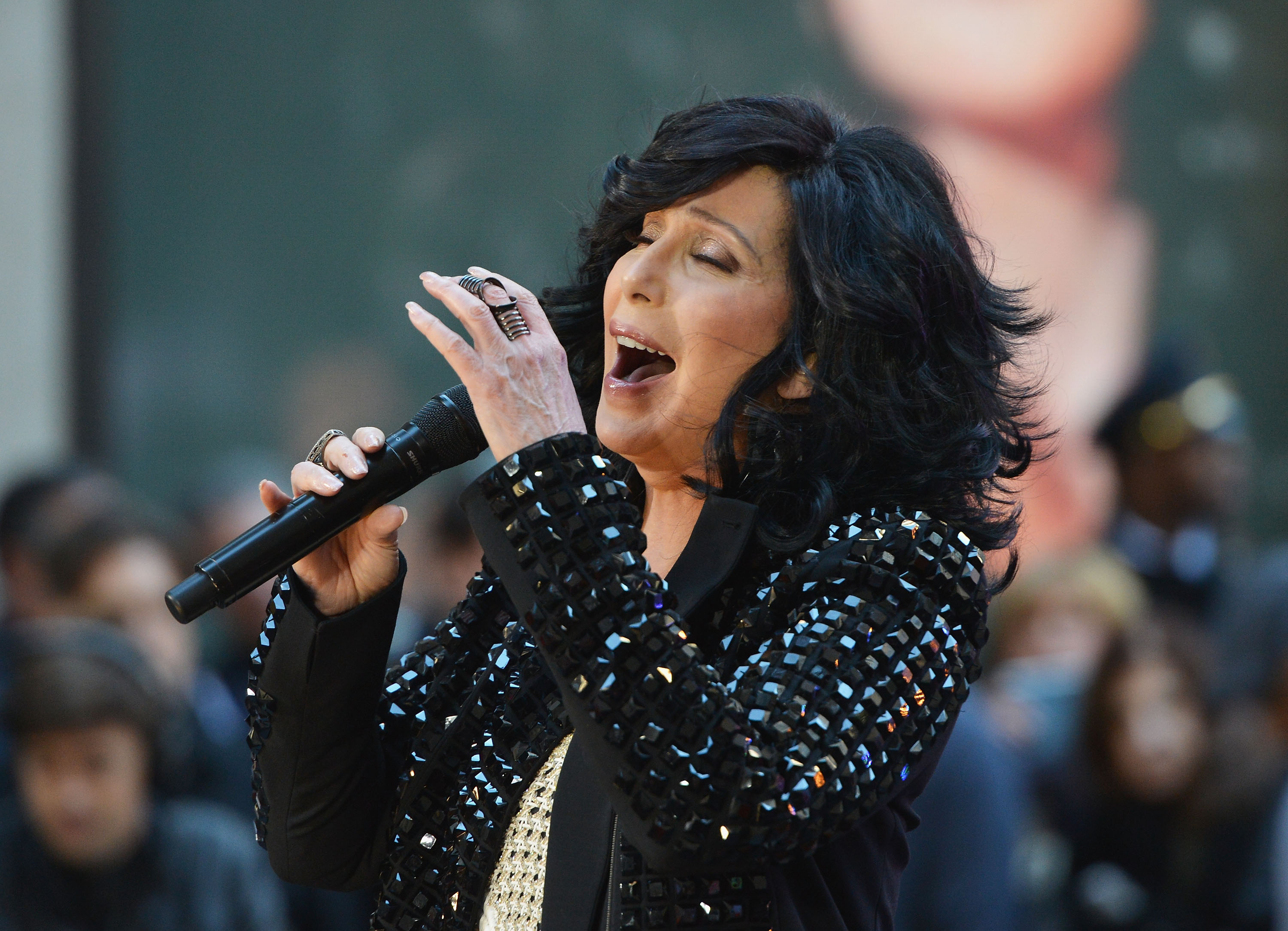 Cher Performs On NBC's «Today»