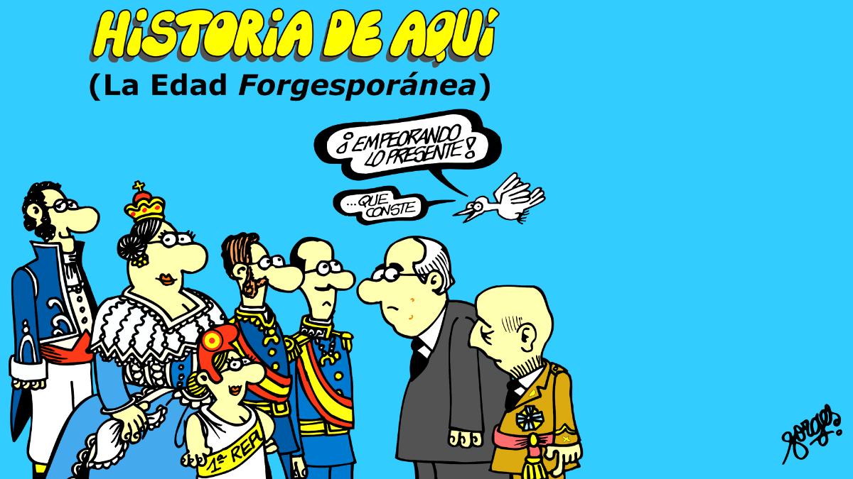 Portada de uno de los libros del humorista Antonio Fraguas Forges
