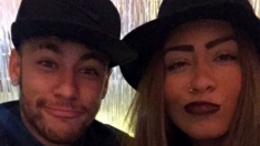 Rafaella Beckran junto a su hermano Neymar (instagram)