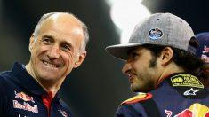 Franz Tost presiona para que Carlos Sainz se quede en Toro Rosso en 2017. (Getty)