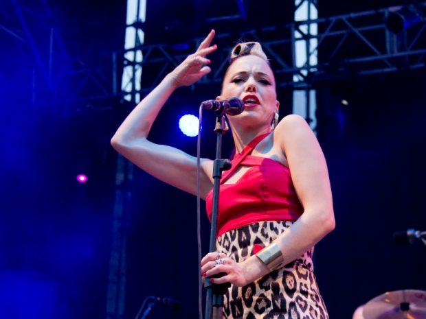 Imelda May en una de sus recientes actuaciones.