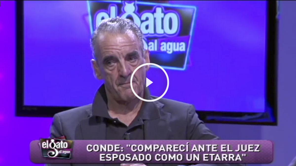 Mario Conde durante su entrevista en Intereconomía.