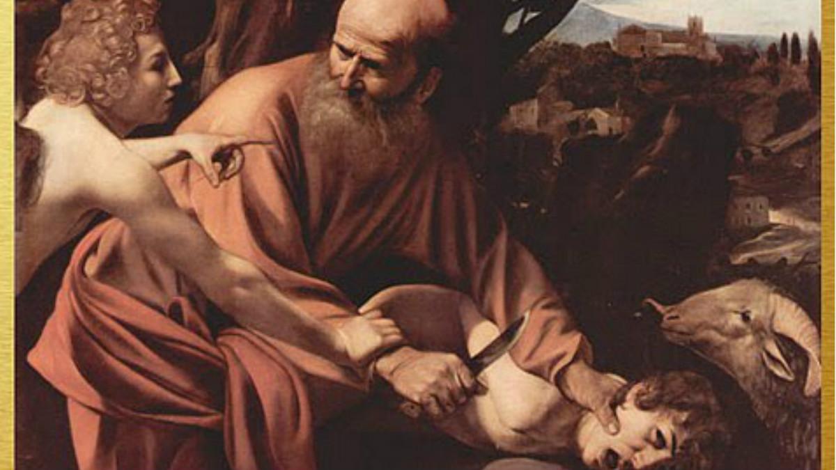 El Sacrificio de Isaac es una de las tres obras nunca antes expuestas en España.