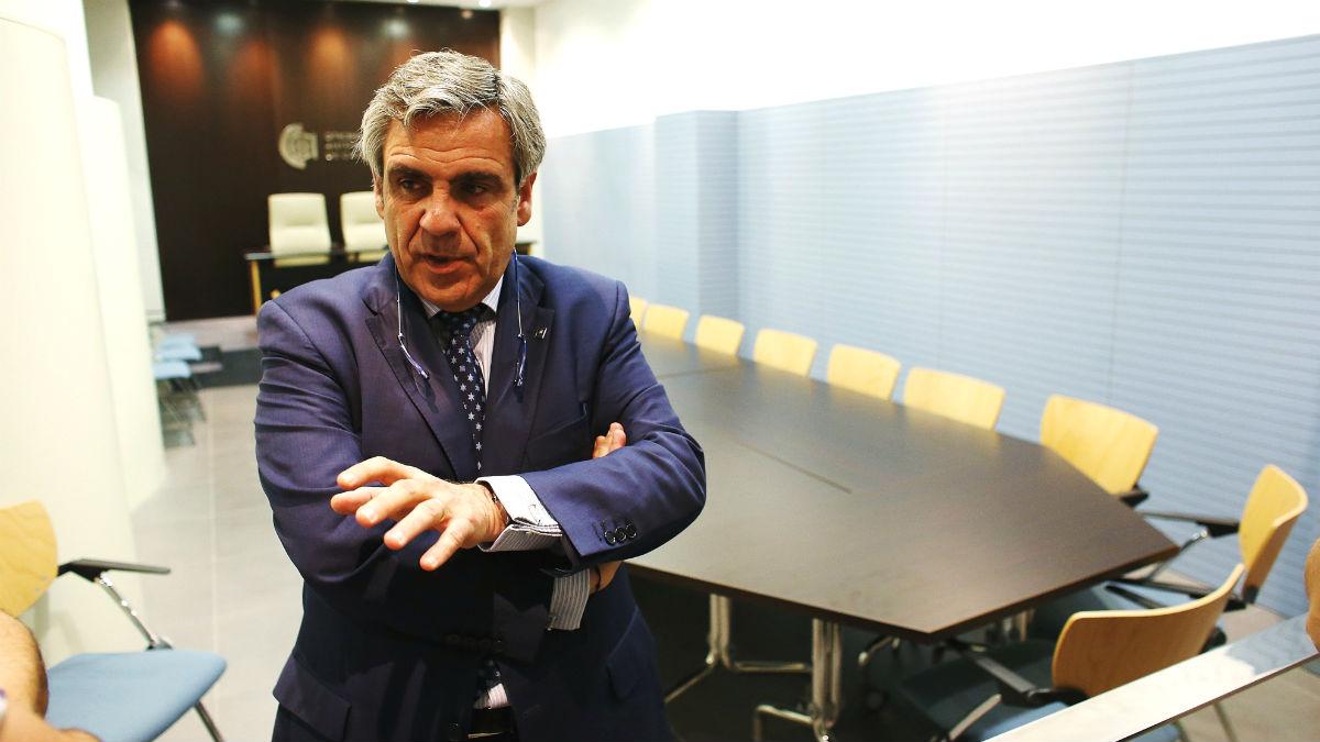 El director de la Oficina Antifraude de Cataluña (OAC), Daniel De Alfonso (Foto: EFE)