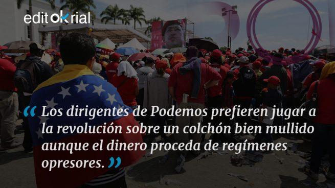 Todos pillaban de Venezuela
