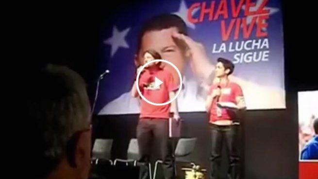 "Iglesias elogia al dictador: ""Chávez era la democracia"""