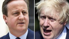 David Cameron y Boris Johnson. (Foto: AFP)