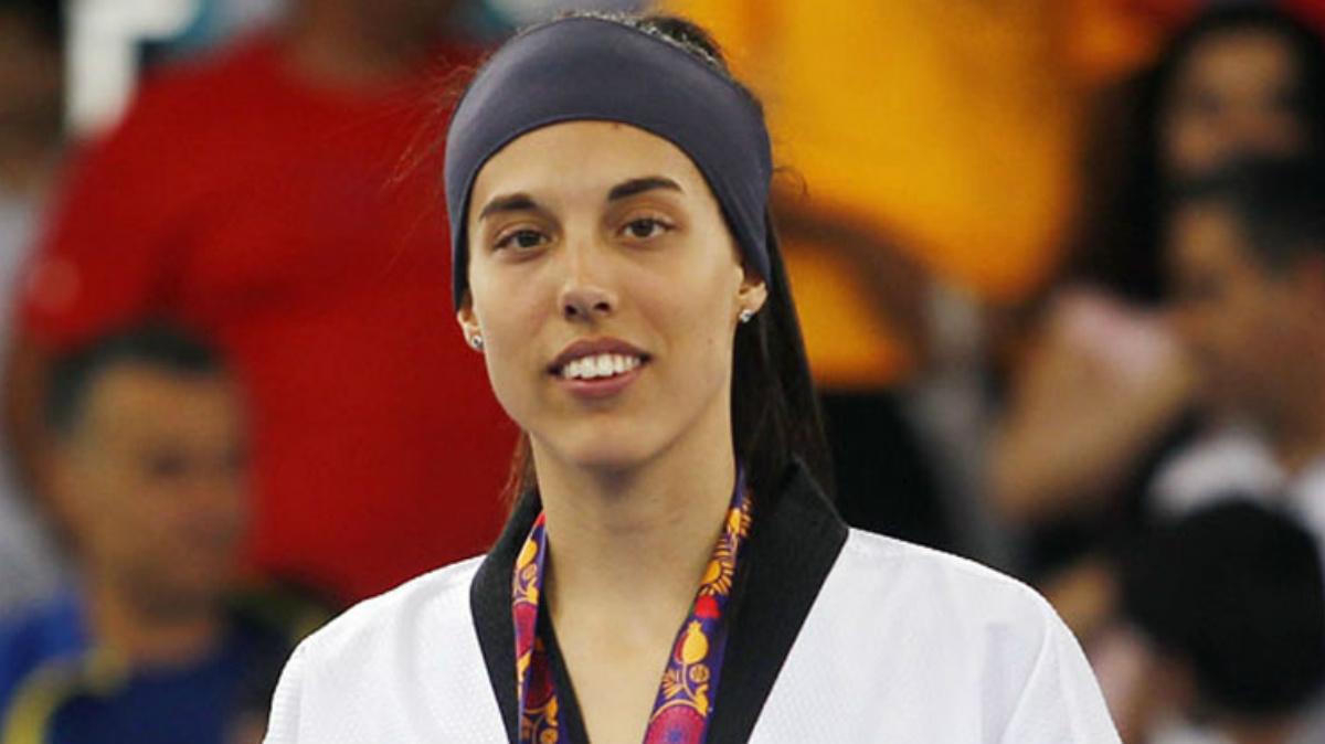 Eva Calvo se colgó el oro en los Juegos Europeos de Bakú. (fetaekwondo.net)