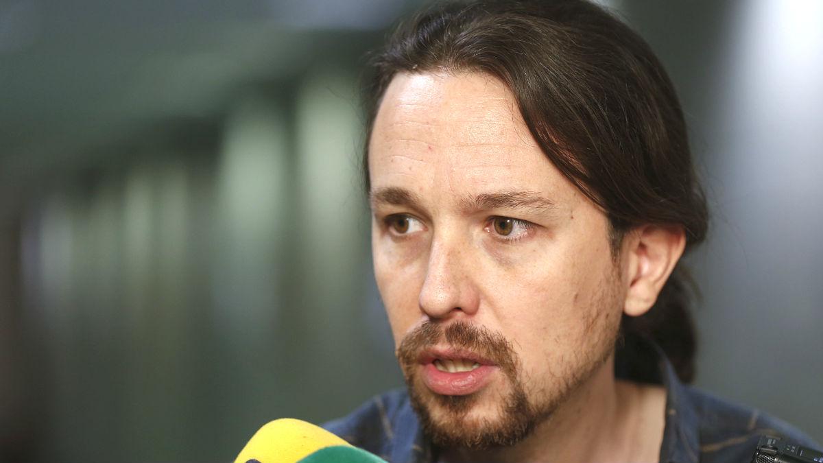 El candidato de Unidos Podemos, Pablo Iglesias (Foto: Efe