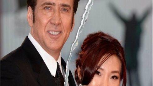 Nicolas Cage y Alice Kim (Instagram)
