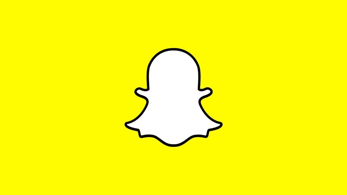 Pantalla de inicio de Snapchat