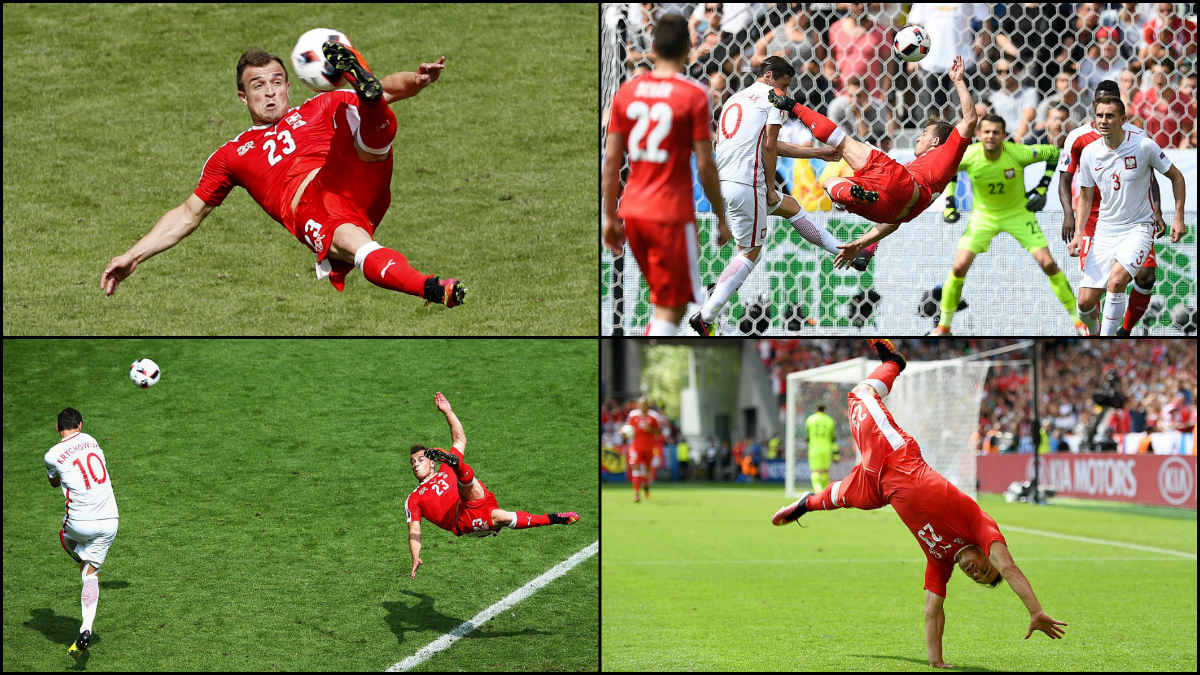 Shaqiri marcó el gol de la Eurocopa.