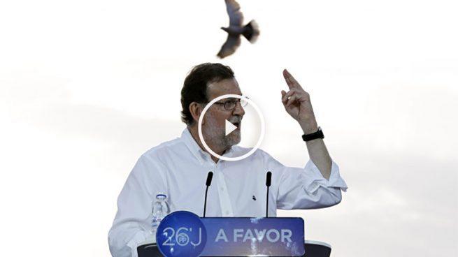 Rajoy cierra su campaña llamando a «concentrar el voto de la moderación»