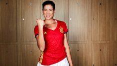 Garbiñe Muguruza apoya a la selección. (@GarbiMuguruza)